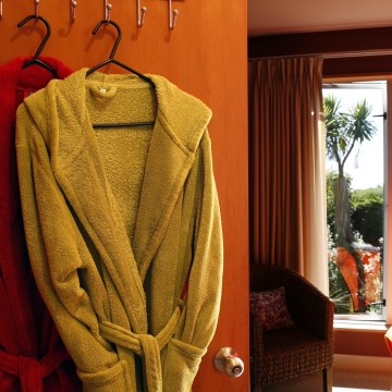 Bathrobes in the Suite Room for your comfort
